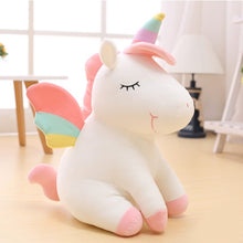 Load image into Gallery viewer, Plush Unicorn Stuffed Animal-Yellow