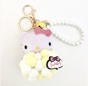 Hello Kitty Keychain- Yellow