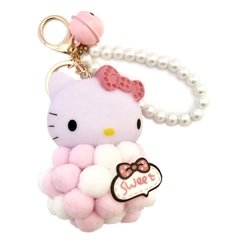 Hello Kitty Keychain- Pink