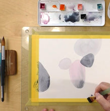 Load image into Gallery viewer, Doodling Around The Shapes / Watercolor workshop