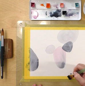 Doodling Around The Shapes / Watercolor workshop