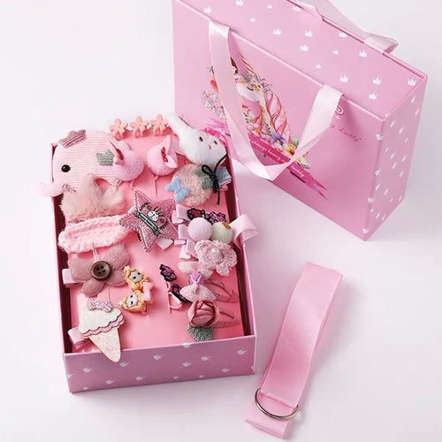 Kids Hair Clips Gift Box A