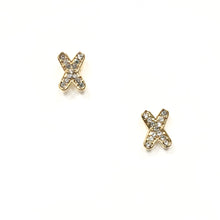 Load image into Gallery viewer, ESN002-X Shaped Earrings