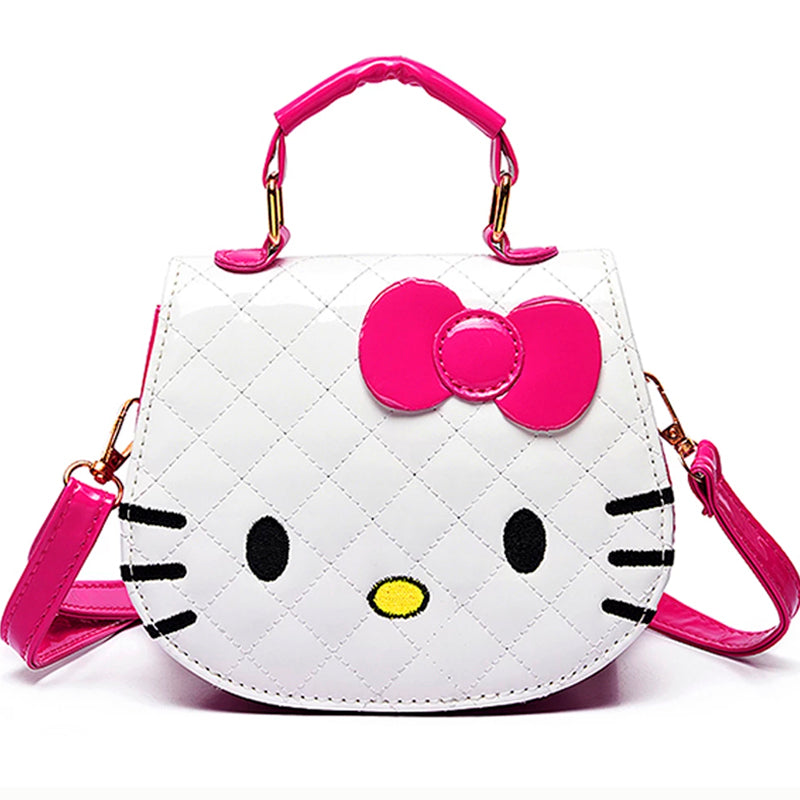 Hello Kitty Hand Bag-White (Restocking)