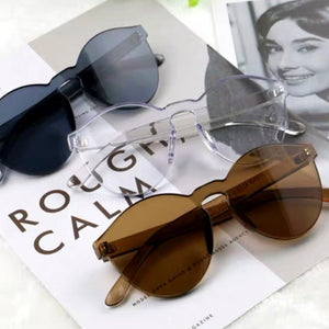 Solid Brown Frame Sunglasses