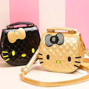 Hello Kitty Hand Bag - Gold (Restocking)