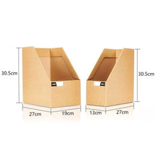 Load image into Gallery viewer, Cardboard Office Desktop Organizer (Size L)