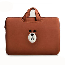 Load image into Gallery viewer, Laptop Bag Brown-Brown