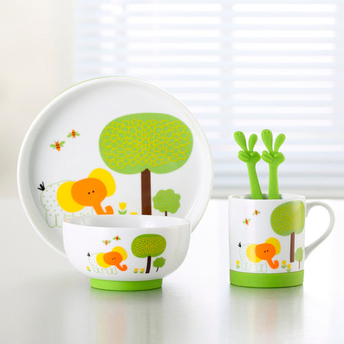 SAFARI  DINNER SET - ELEPHANT