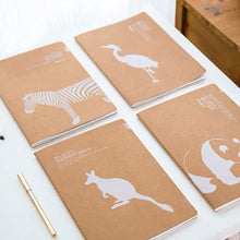 Load image into Gallery viewer, Kangaroo Animal Notebook