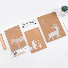 Load image into Gallery viewer, Caribou Animal Notebook