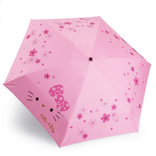 Load image into Gallery viewer, Hello Kitty Cherry blossom umbrella /pink