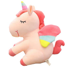 Load image into Gallery viewer, Plush Unicorn Stuffed Animal-Pink