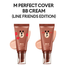 Load image into Gallery viewer, M Perfect Cover BB Cream SPF 42 PA+++(50ml) (MISSHA X LINE FRIENDS Edition)