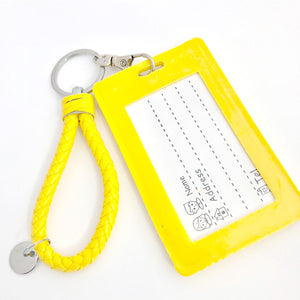 SALLY ID Card Holder-Yellow