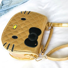 Load image into Gallery viewer, Hello Kitty Hand Bag - Gold (Restocking)