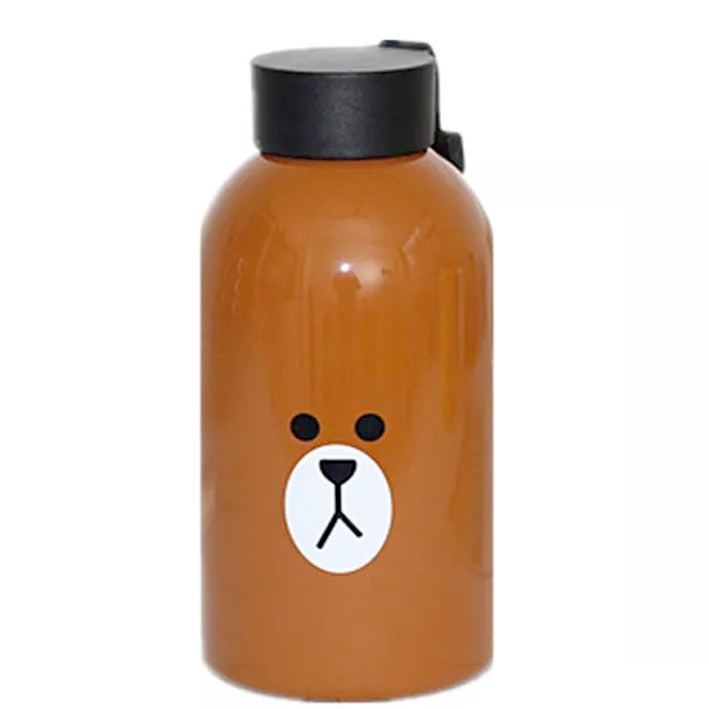 Brown Thermos-Brown