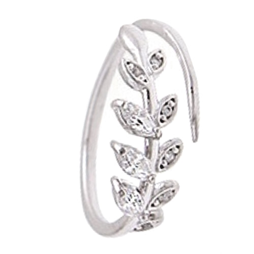 Eight Leaf Ring -Silver