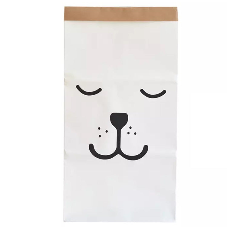 Puppy Face Paper Bag Decor
