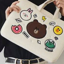 Load image into Gallery viewer, Laptop Bag Brown Cony Sally Leonard-White (Restocking)