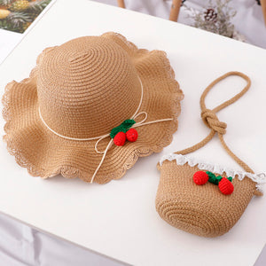 Summer Strawberry - Hat and Bag/Earth