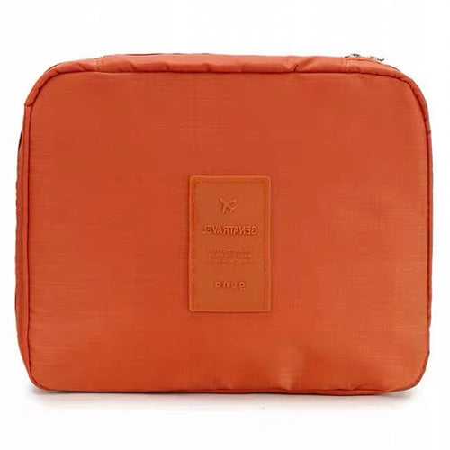 Small Orange Travel Bag