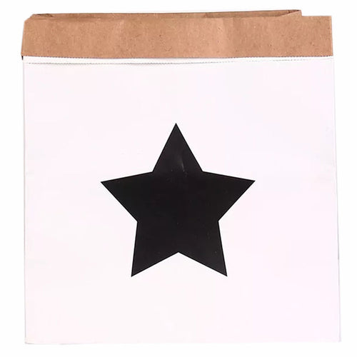 Star Printed Paper Bag Decor