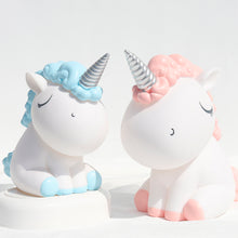 Load image into Gallery viewer, Unicorn Money Bank (Light Blue)