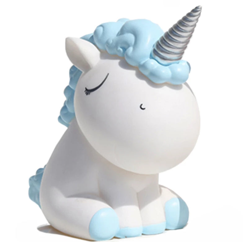 Unicorn Money Bank (Light Blue)