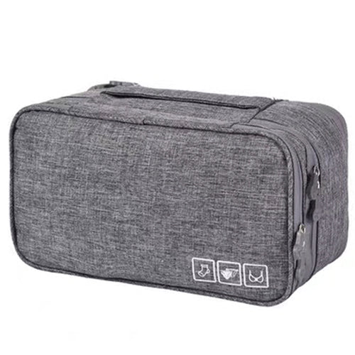 Light Grey Travel Bag