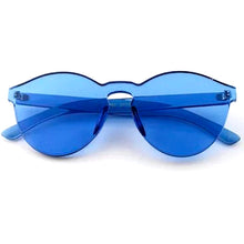 Load image into Gallery viewer, Solid Blue Frame Sunglasses