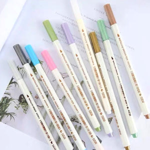 Metallic Markers / Set of 10 Colors