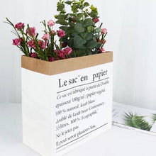 Load image into Gallery viewer, Medium Sized Paper Bag Decor