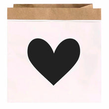 Load image into Gallery viewer, Heart Printed Paper Bag Decor