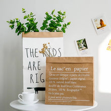Load image into Gallery viewer, Big Heart Paper Bag Decor