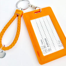 Load image into Gallery viewer, Sally ID Card Holder-Orange