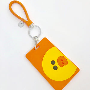 Sally ID Card Holder-Orange