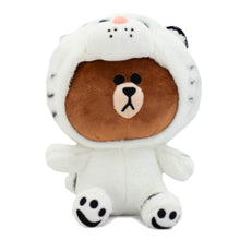 Load image into Gallery viewer, Brown Bear in a Tiger Costume Plushie ( Restocking )
