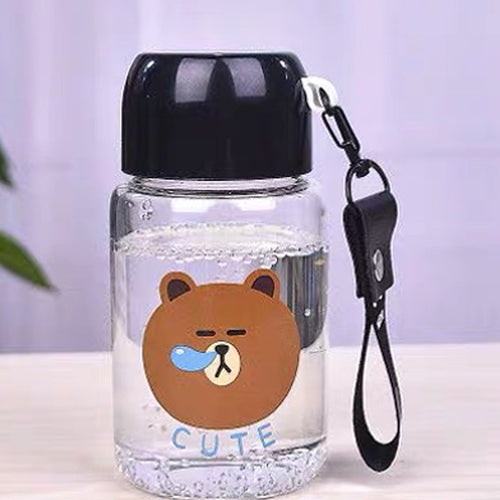 Brown Mini Water Bottle (Black)