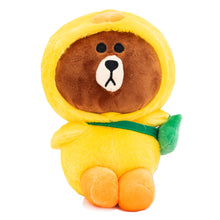 Load image into Gallery viewer, Brown Bear in a Duck Costume Plushin ( Restocking )