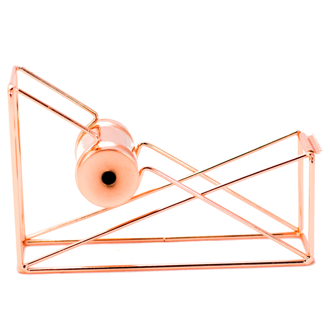 Pink Metallic Tape Dispenser