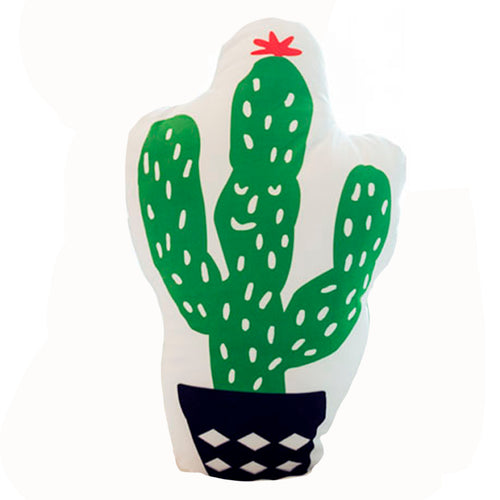 Cactus Shaped Decorative Pillow