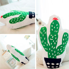 Load image into Gallery viewer, Cactus Shaped Decorative Pillow