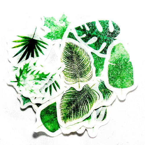 Tropical Leaf Stickers