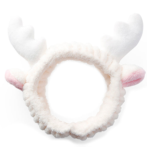 White Deer Ear Headband