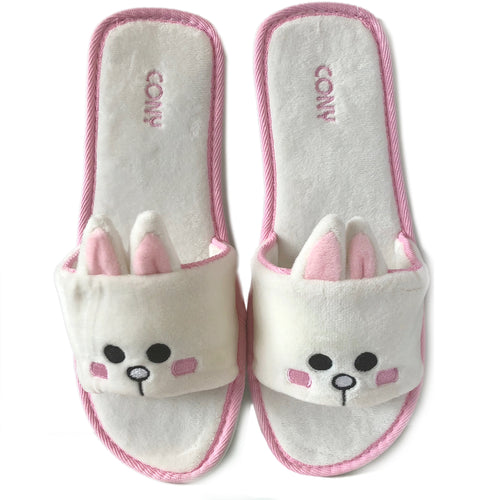 Cony Slippers-White