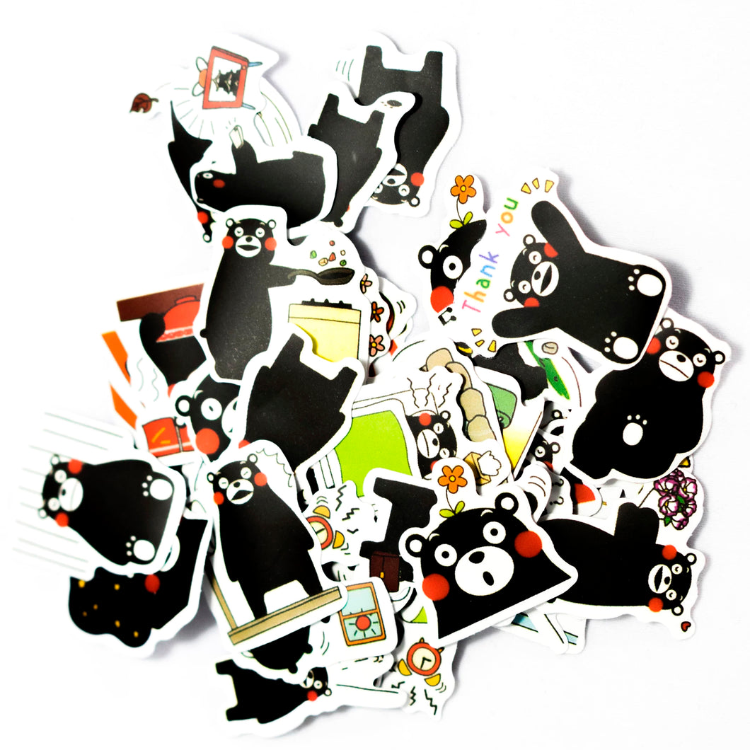 Black Bear Stickers
