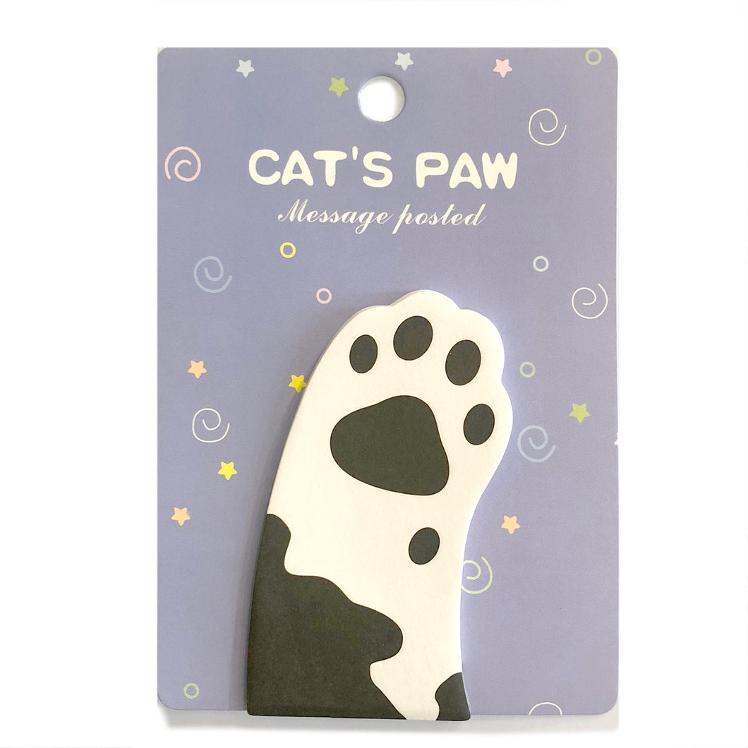 Cat's Paw Sticky Notes / Style 1
