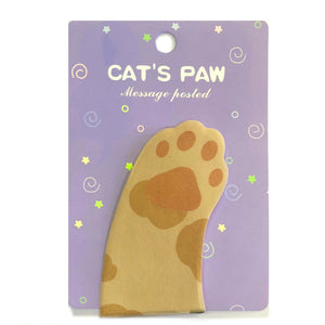Cat's Paw Sticky Notes / Style 2