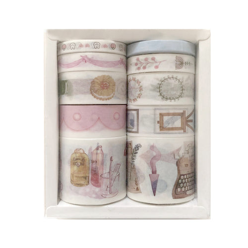 Natural Washi Tape- European Royalty